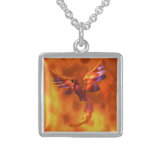 Phoenix Sterling Silver Necklace