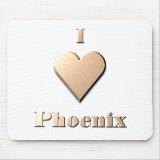 Phoenix -- Tan Mouse Pads