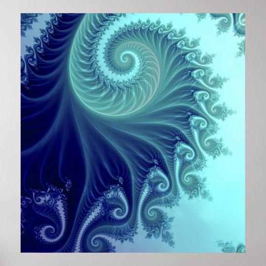 Phoenix - THE BLUE SPIRAL Poster