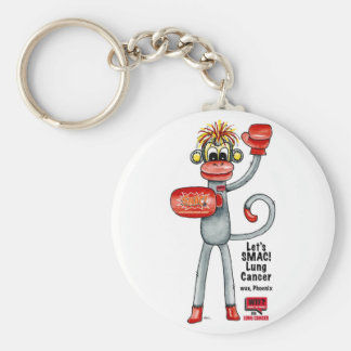 Phoenix the Lung Cancer SMAC! Monkey - Boxing! Key Ring