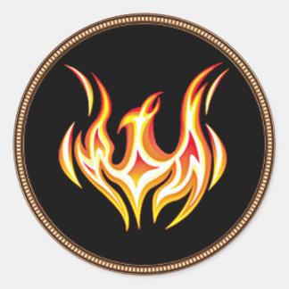 Phoenixcoin Branded Round Sticker