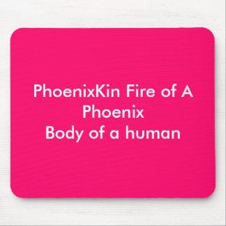 PhoenixKin Fire of A PhoenixBody of a human Mouse Mat