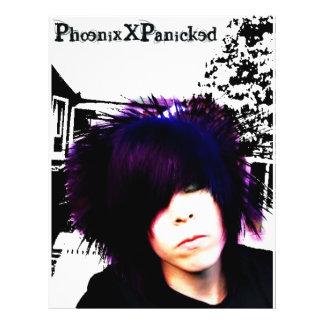 Phoenixxpanicked2 Custom Flyer