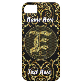 Phone 5 Monogram E View Hints Please iPhone 5 Cover