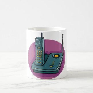Phone And Answering Machine Mug