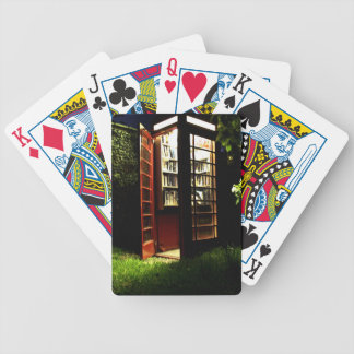 Phone box bicycle playing cards