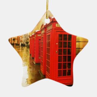 Phone boxes ceramic star decoration