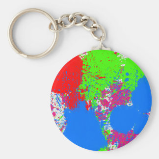 phone case - bright color explosion key chains