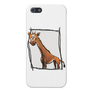 Phone Case - Cartoon Giraffe Case For iPhone 5/5S