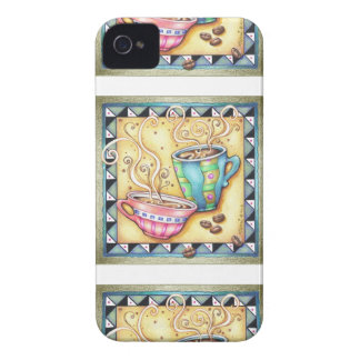 PHONE CASE - COOL BEANS! COFFEE ART iPhone 4 Case-Mate CASE