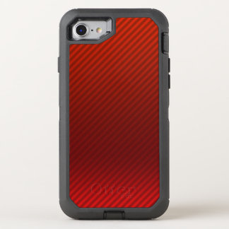 Phone case -- Dark Red striped gradient