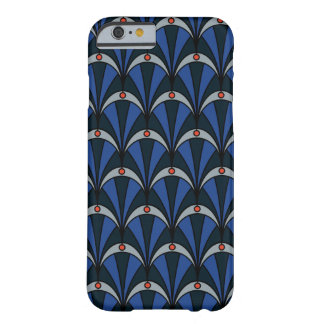 Phone case in Art Deco style and blue colours