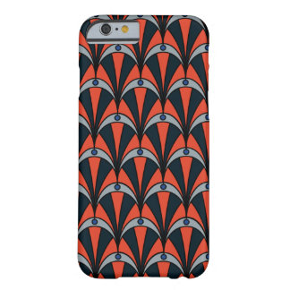 Phone case in Art Deco style and earth colours
