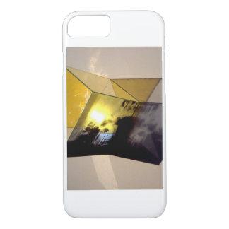 Phone case photograph of skull xray sculpture