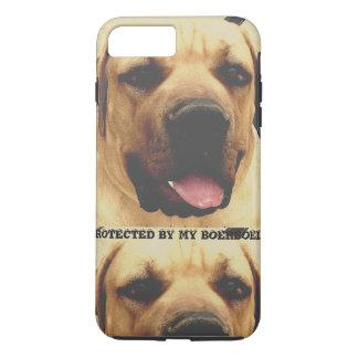 Phone case protected by boerboel