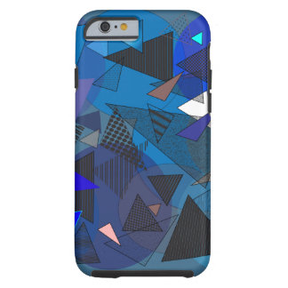 "Phone Case ""Triangles Denim"""