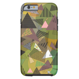 "Phone Case ""Triangles Foliage"""