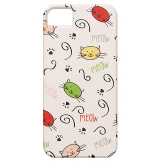phone case with cats iPhone 5 cover