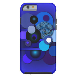 """Phone Case with """"Circles Blueberry"""""""