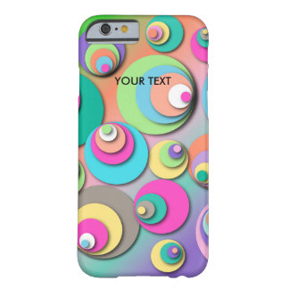 """Phone Case with """"Circles Pastel"""""""