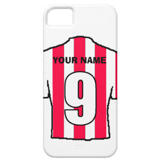 Phone Case with Club Colours! Red & White Shirt