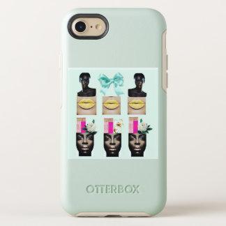 Phone case with digital art