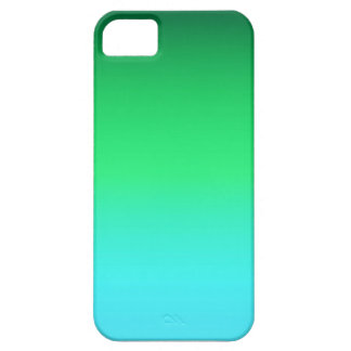 Phone case with green and blue gradient iPhone 5 case