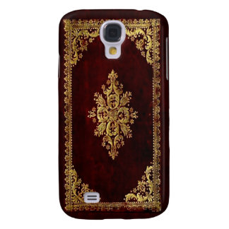 Phone cover - Antique Book - Victorian Style Galaxy S4 Case