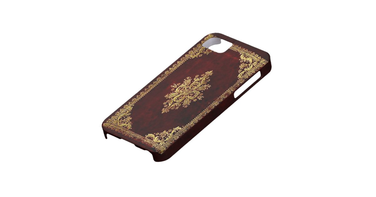 Old Book Phone Cover : Phone cover antique book victorian style iphone case