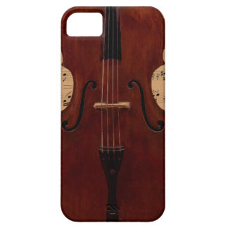 Phone cover - Double Bass - Color choices iPhone 5 Case