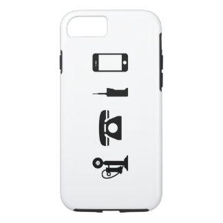 Phone Evolution Pictogram iPhone 7 Case