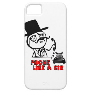 Phone Like a Sir MEME iPhone4 case iPhone 5 Cover