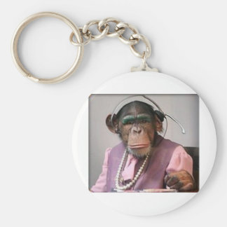 phone monkey key ring