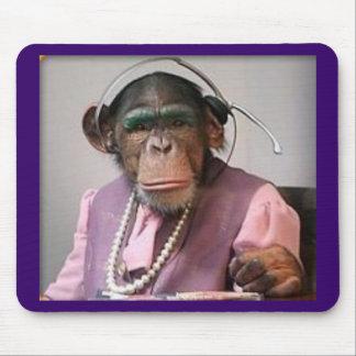 phone monkey mouse mat
