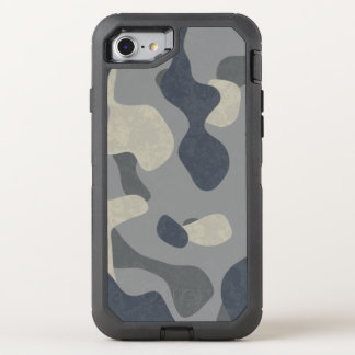 Phone navy and air force military camouflage OtterBox defender iPhone 8/7 case