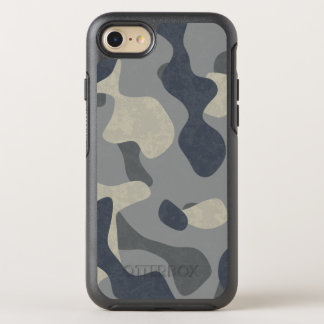 Phone navy and air force military camouflage OtterBox symmetry iPhone 8/7 case