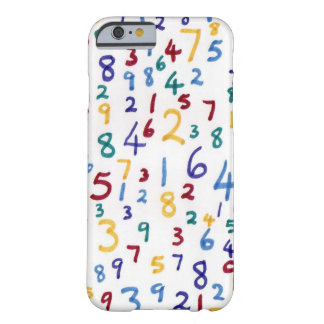 Phone numbers barely there iPhone 6 case