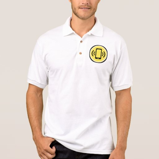 Phone on Vibrate Polo Shirt