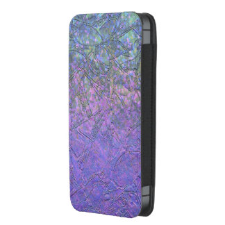 Phone Pouch iPhone 5s Grunge Floral Relief
