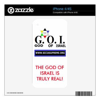 PHONE SKIN - GOI iPhone 4S DECAL