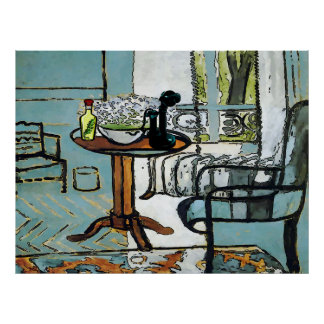 Phone Table, Matisse Style Poster