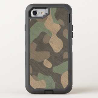 Phone woodland military camouflage OtterBox defender iPhone 8/7 case
