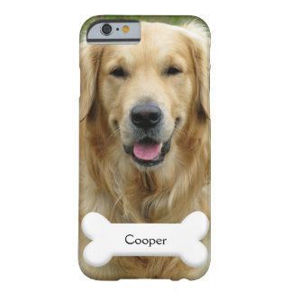 PhoneCase - Custom pet (dog) photo and name Barely There iPhone 6 Case