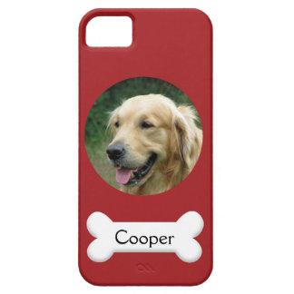 PhoneCase - Custom pet (dog) photo and name iPhone 5 Case