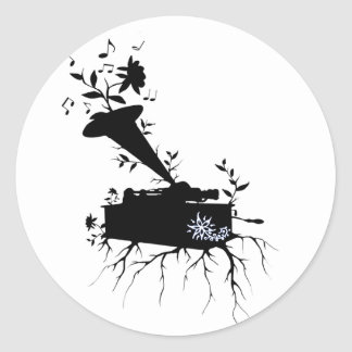Phonograph, Musical Roots - Sticker
