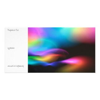 Phosphorescent Tide Personalized Photo Card