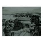 photgraphing the junkyard postcard