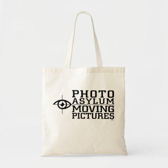 Photo Asylum Moving Pictures Film Tote Bag