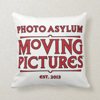 Photo Asylum Moving Pictures Pillow