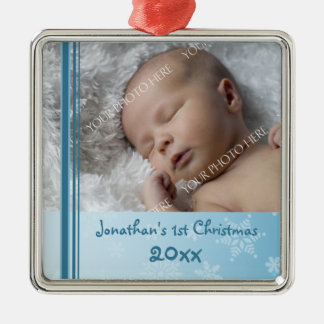 Photo Baby s 1st Christmas Ornament